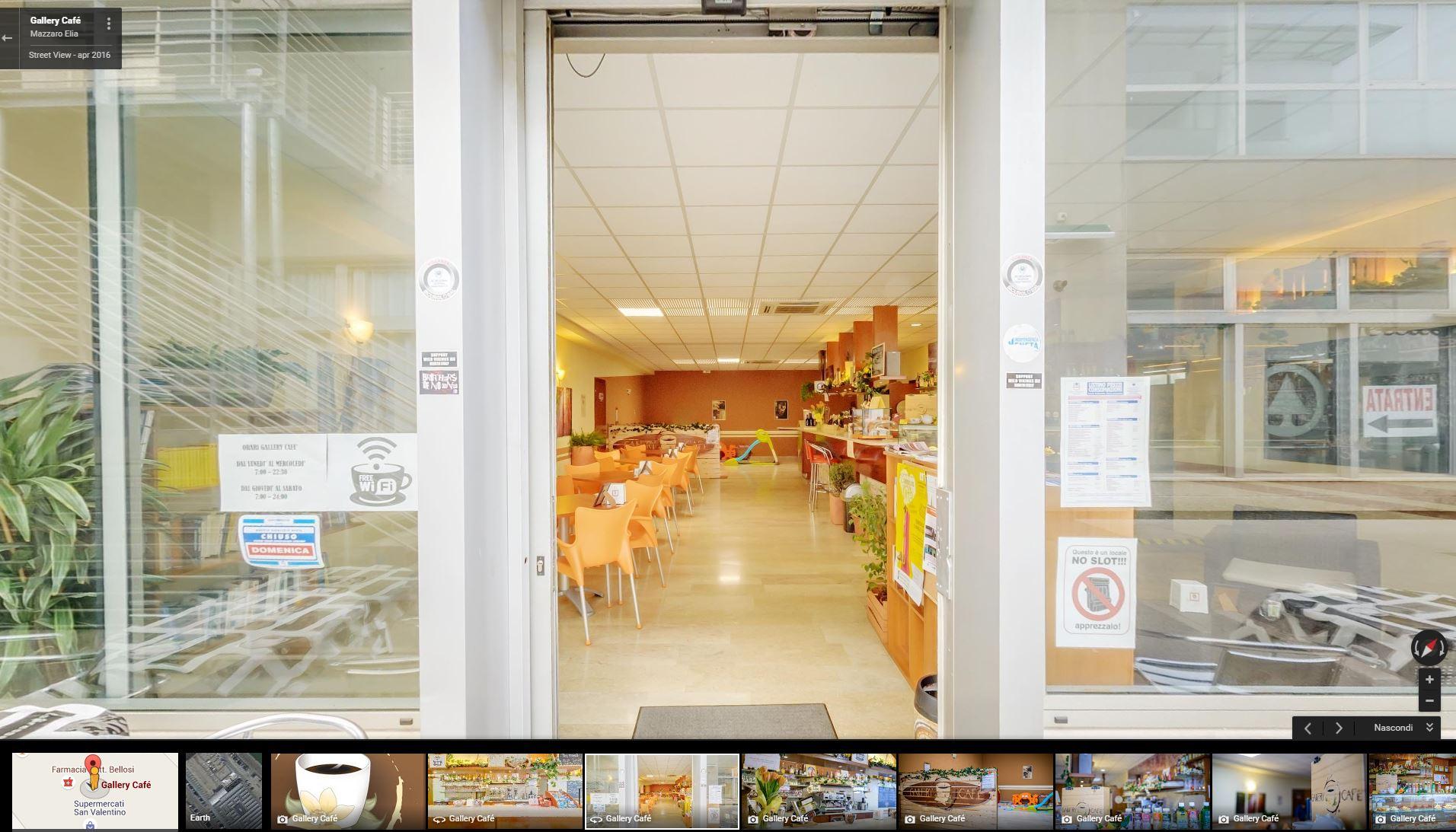 Virtual Tour al gallery café